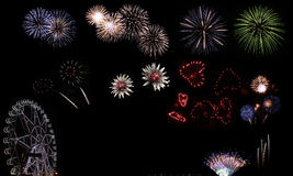 Fireworks festival Stock Photo
