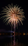 Fireworks festival in the day. Night background stock images