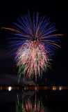 Fireworks festival in the day. Night background stock photography