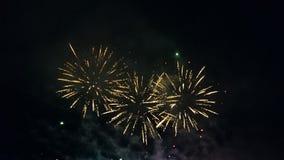 Fireworks. Festival fireworks fiera royalty free stock photo