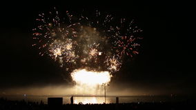 Impressive firework background concept new year stock video footage