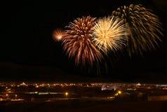 Fireworks festival in ZURRIEQ, Malta Royalty Free Stock Image