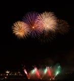 Fireworks festival in ZURRIEQ, Malta Stock Photography