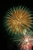 Fireworks - Feuerwerk. Colorful Fireworks - buntes Feuerwerk royalty free stock photo