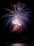 Fireworks Finale Stock Images