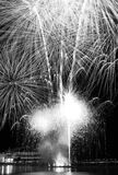 Fireworks finale in Singapore Royalty Free Stock Images