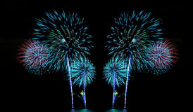 Fireworks or firecracker. Royalty Free Stock Photos