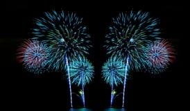 Fireworks or firecracker. Royalty Free Stock Photos
