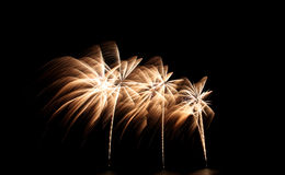 Fireworks or firecracker of colorful brightly. Stock Photos