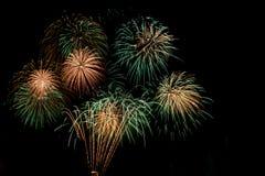 Fireworks. Firework Display in Battersea Park London, Guy Fawkes Night, November 2013 Stock Photos