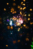 Fireworks. fireworks. Colorful fireworks. In the sky royalty free stock photo