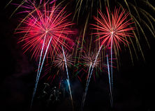 Fireworks Four Royalty Free Stock Image