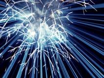 Fireworks frame Royalty Free Stock Images