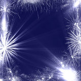Fireworks Frame Royalty Free Stock Photo