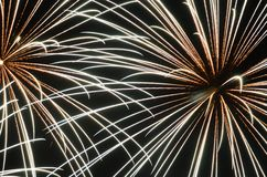 Fireworks. On the French National Holiday Stock Images