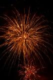 Fireworks-Fuegos artificiales Royalty Free Stock Photo