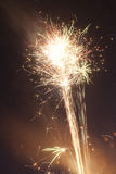 Fireworks. Going off at night Royalty Free Stock Photo