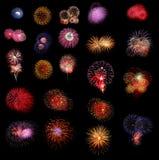 Fireworks Group Stock Photos