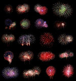 Fireworks Group Stock Photography
