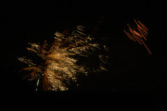 Fireworks 2. Fireworks for Guy Fawkes night Stock Images