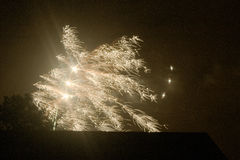 Fireworks 1. Fireworks for Guy Fawkes night Stock Image