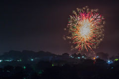 Fireworks 2016 Royalty Free Stock Photography