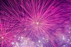 Fireworks Hong Kong Royalty Free Stock Photography