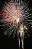 Fireworks I. Fireworks 4th of July Royalty Free Stock Image