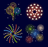 Fireworks  icon  Royalty Free Stock Photography