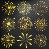 Fireworks  icon  Stock Photos