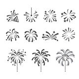 Fireworks icon Royalty Free Stock Image