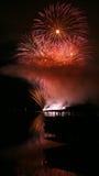 Fireworks Ignis Brunensis stock photos