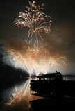 Fireworks Ignis Brunensis Royalty Free Stock Photo