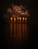 Fireworks - Ignis Brunensis Stock Photo