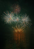 Fireworks - Ignis Brunensis Royalty Free Stock Photo