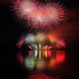 Fireworks - Ignis Brunensis royalty free stock photos