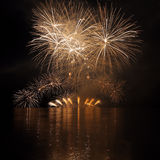 Fireworks - Ignis Brunensis Royalty Free Stock Images