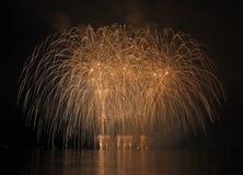 Fireworks - Ignis Brunensis Royalty Free Stock Image