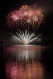Fireworks Ignis Brunensis Stock Images