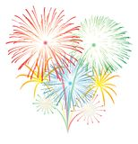 Fireworks vector stock images