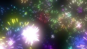 Fireworks image royalty free illustration