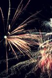 Fireworks. The image of new years fireworks Stock Images