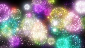Fireworks image. Image of fireworks, such as appearing in the anime Royalty Free Stock Images