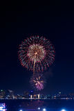 Fireworks international Fastival Royalty Free Stock Photography