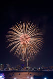 Fireworks international Fastival Royalty Free Stock Images