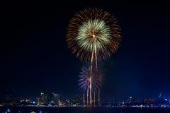 Fireworks international Fastival Stock Image