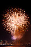 Fireworks international Fastival Royalty Free Stock Photos