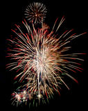 Fireworks Isolated Stock Photo