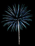 Fireworks Isolated Royalty Free Stock Photo
