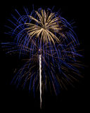 Fireworks Isolated Royalty Free Stock Images